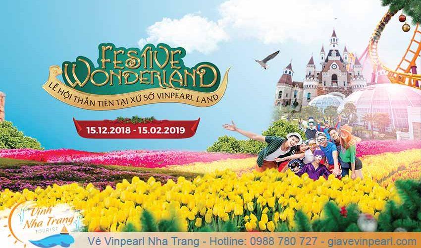 festive wonderland le hoi hoa tuylip vinpearl nha trang