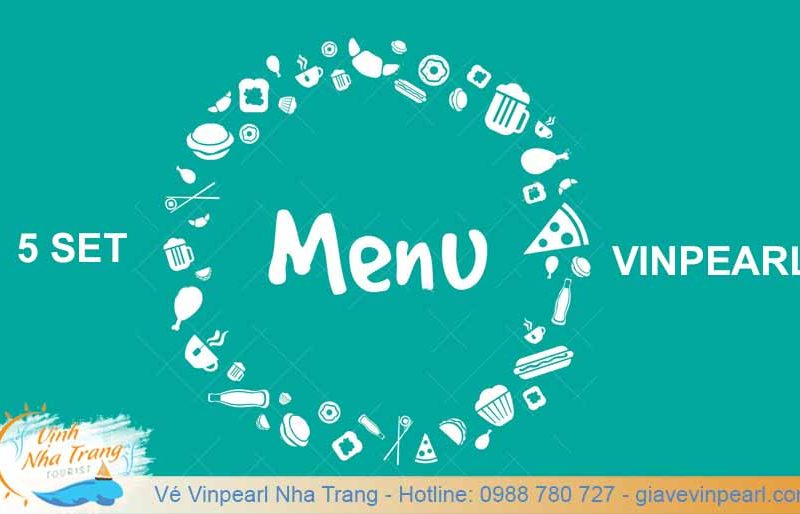 5 set menu vinpearl land nha trang cover